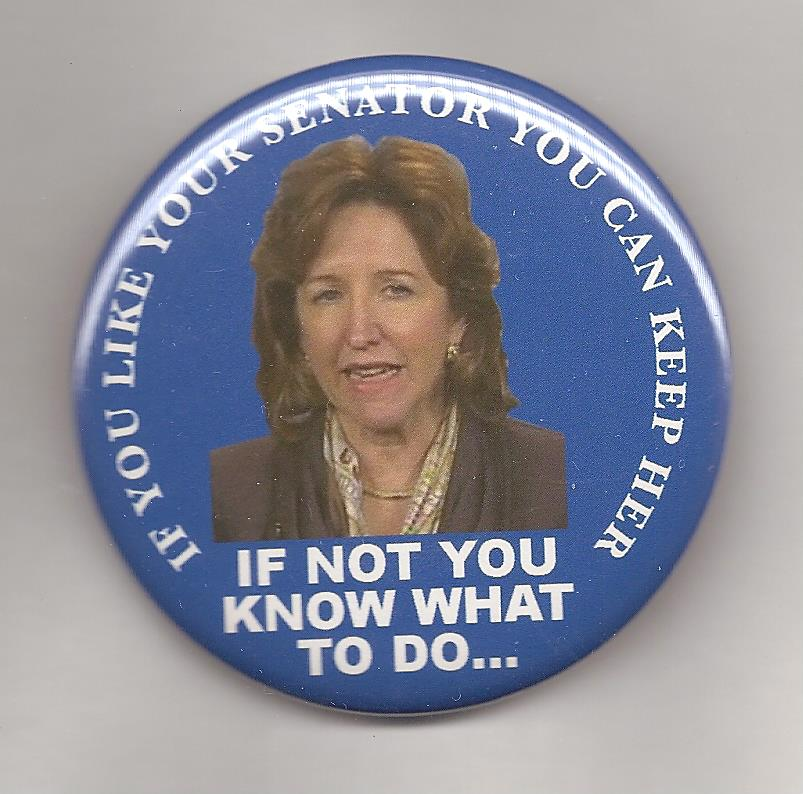Kay Hagan's comments about Obamacare were music to Republican admakers.