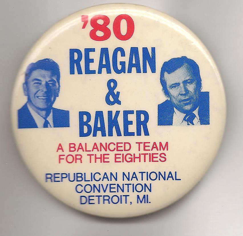 Baker's support for the Panama Canal Treaty under Carter probably doomed any chance he had at the GOP presidential nomination or to be Ronald Reagan's running mate.