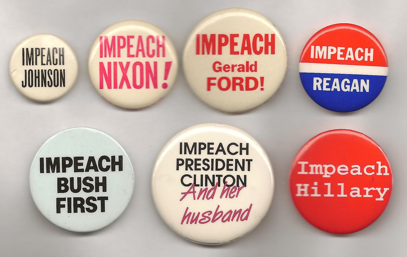 Impeaching The President 1868 2014 Ken Rudin S