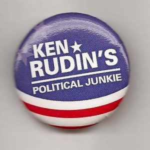 Political Junkie Logo Button